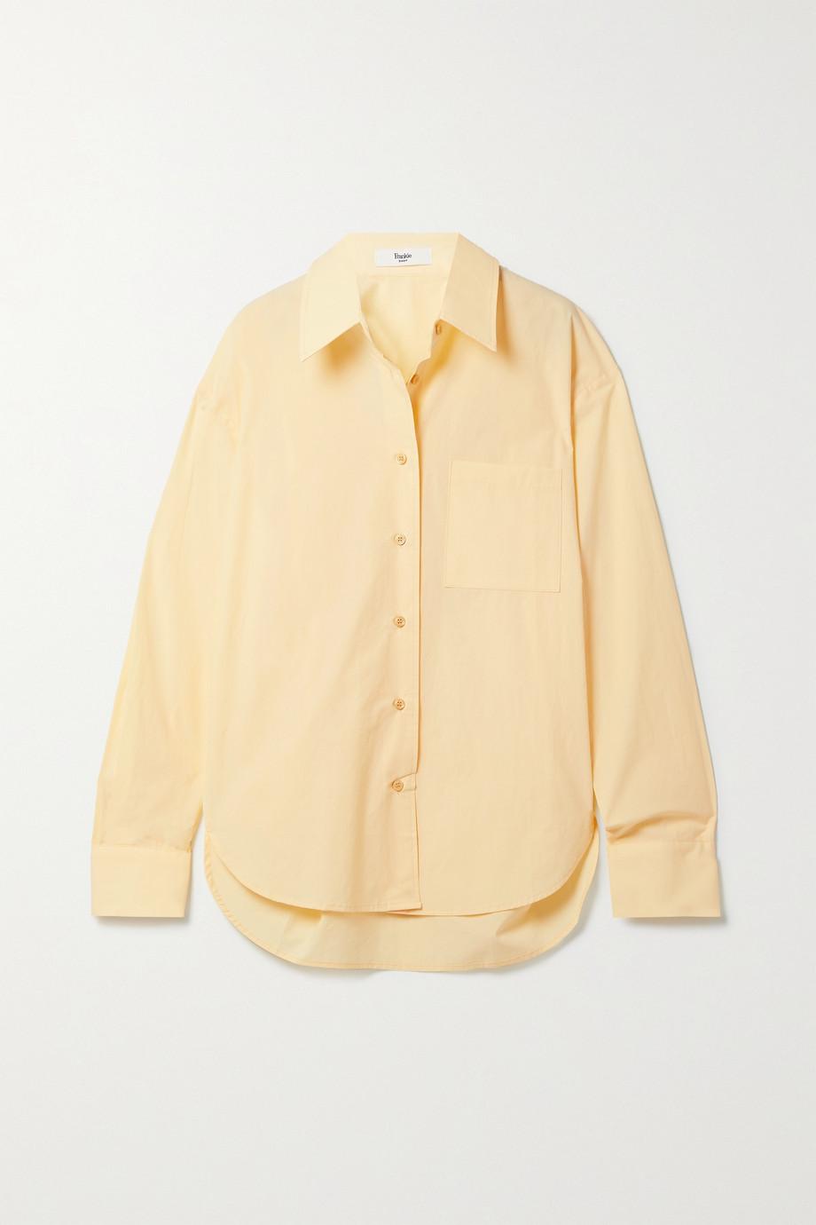 Frankie Shop Lui Hemd aus Biobaumwollpopeline