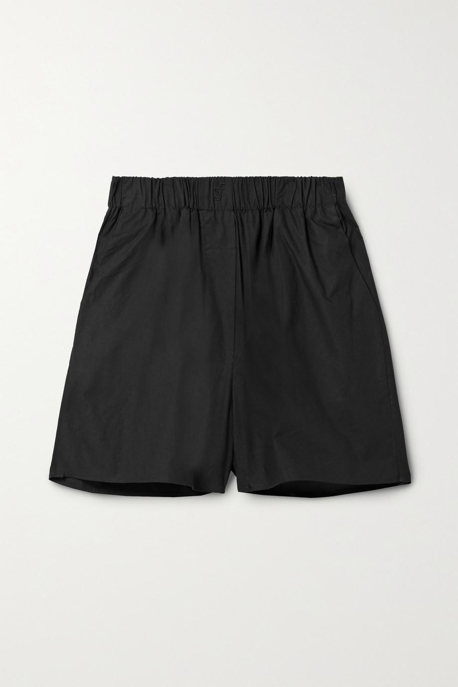 Frankie Shop Lui Shorts aus Biobaumwollpopeline
