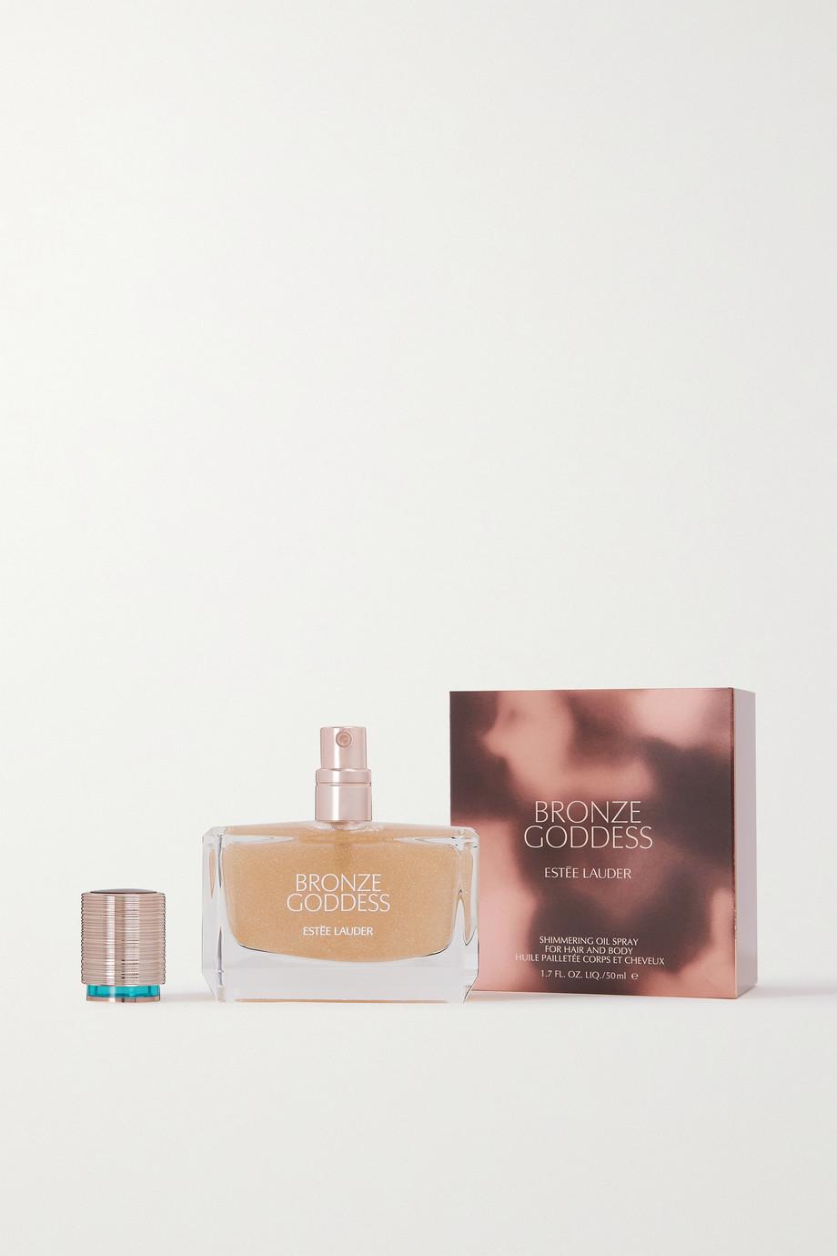 Estée Lauder Bronze Goddess Shimmering Oil Spray for Hair & Body, 50ml