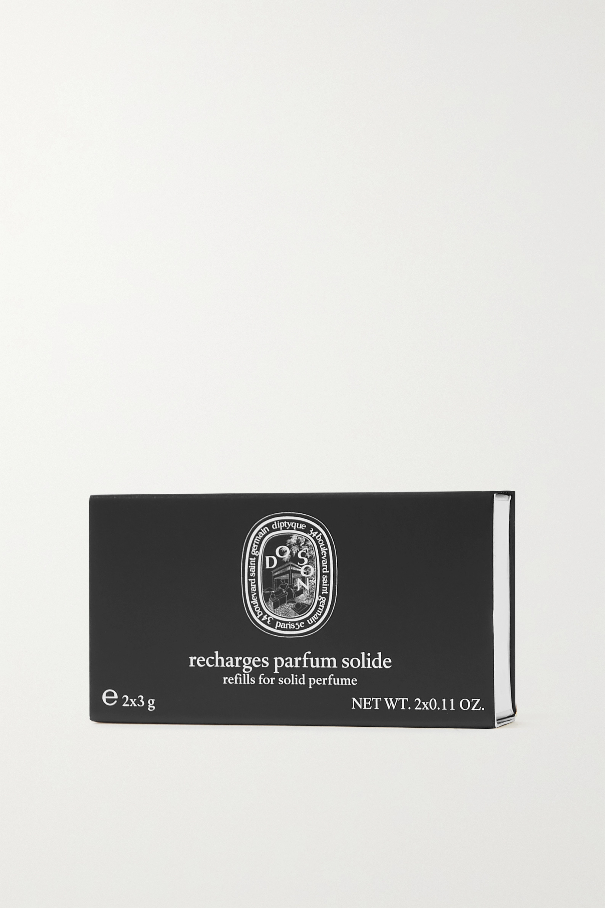 Diptyque Solid Perfume Refills - Eau Rose, 2 x 3g