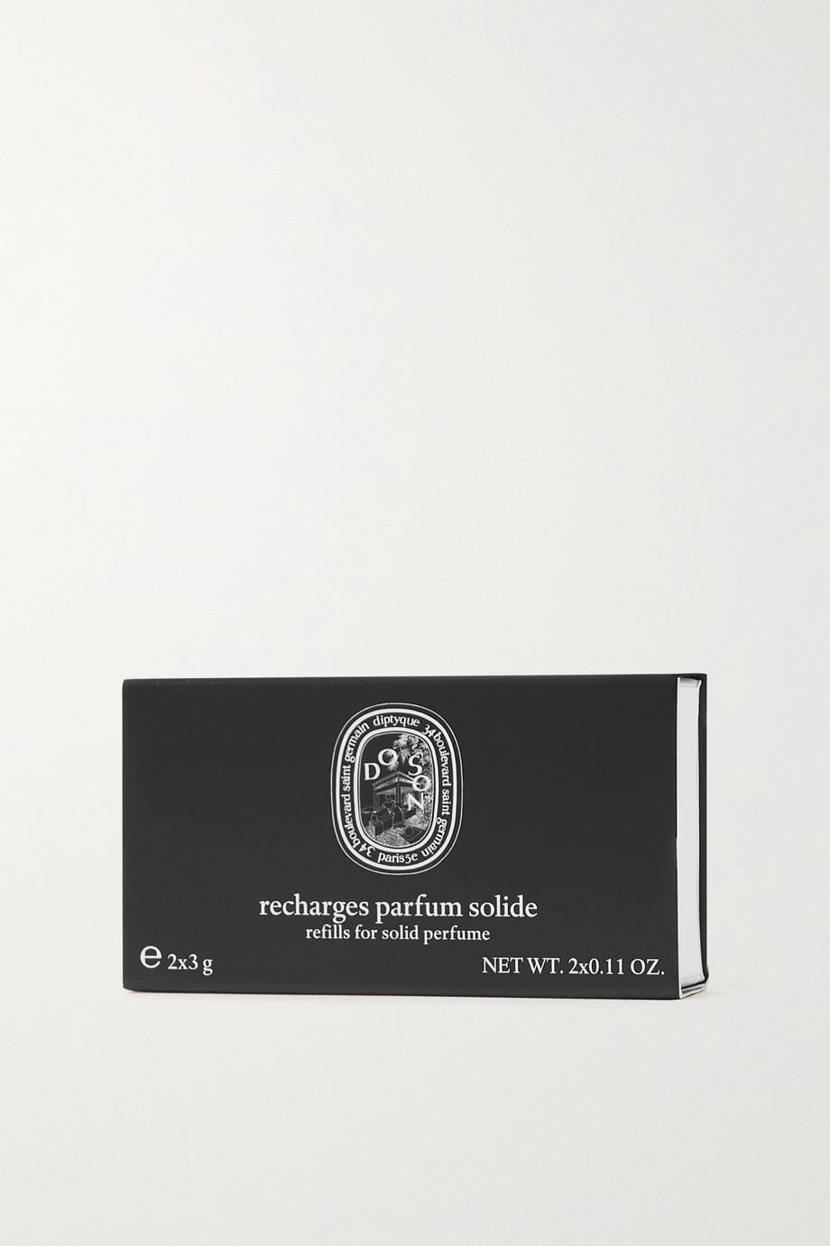 Diptyque Solid Perfume Refills - 34 Boulevard Saint Germain, 2 x 3 g – Nachfüll-Cremeparfum