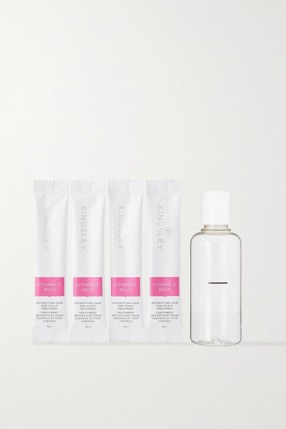 PHILIP KINGSLEY Vitamin C Jelly Detoxifying Hair and Scalp Treatment, 4 x 5g