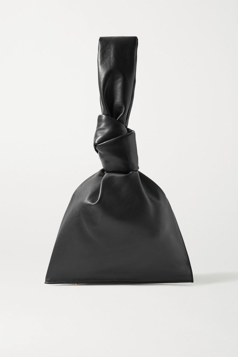 Bottega Veneta Pochette en cuir noué The Mini Twist