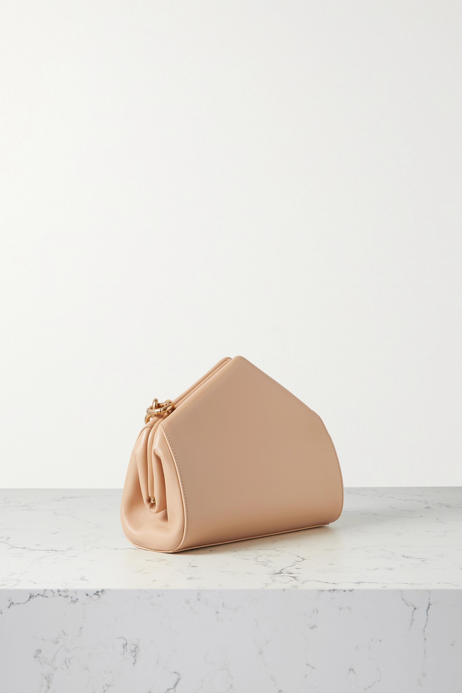 Bottega Veneta Sac porté épaule en cuir A Triangle Small