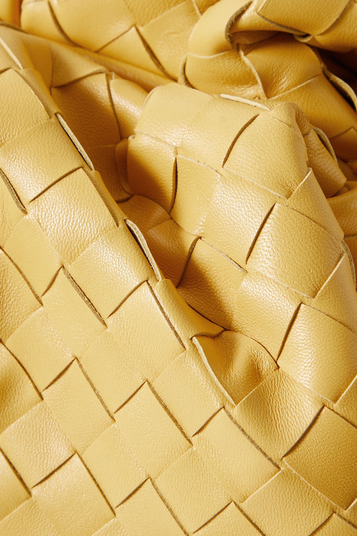 Bottega Veneta The Pouch large gathered intrecciato leather clutch