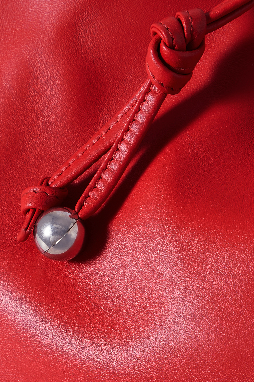 Bottega Veneta The Medium Bulb Tote aus Leder mit Raffungen
