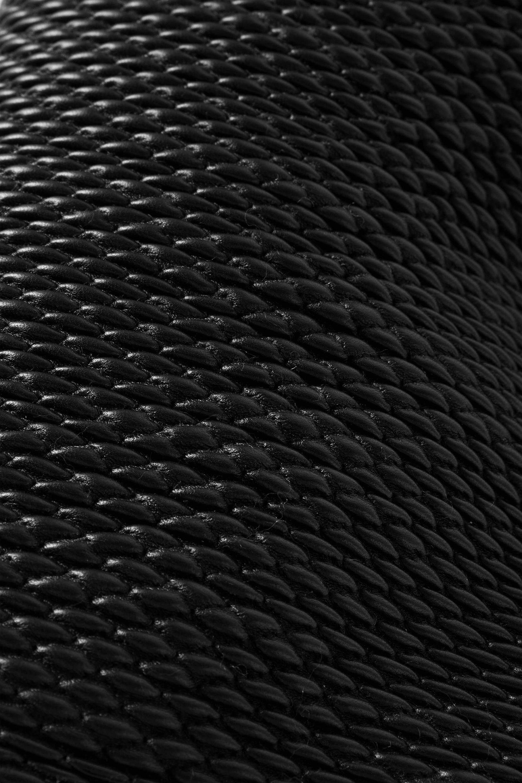 Bottega Veneta Point mittelgroße Tote aus gestepptem Leder
