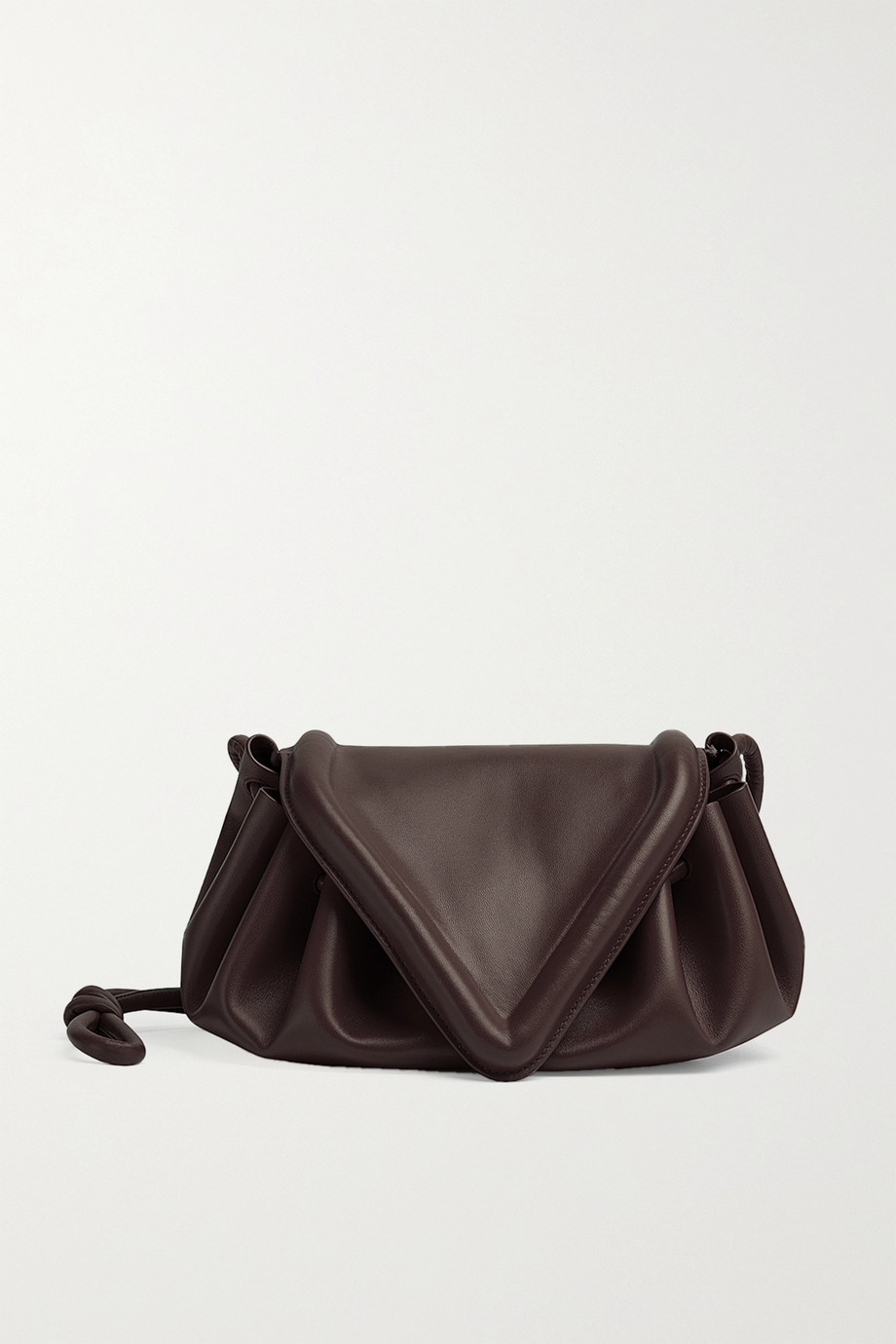 Bottega Veneta Sac porté épaule en cuir Beak Medium