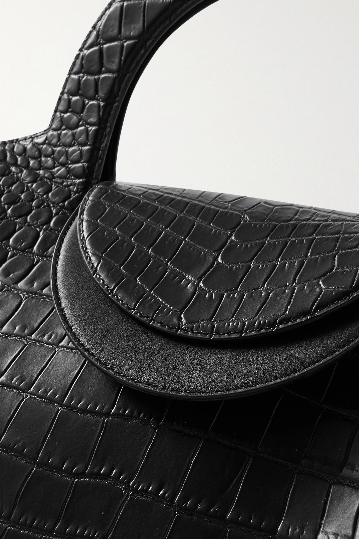 Bottega Veneta Doll large croc-effect leather tote