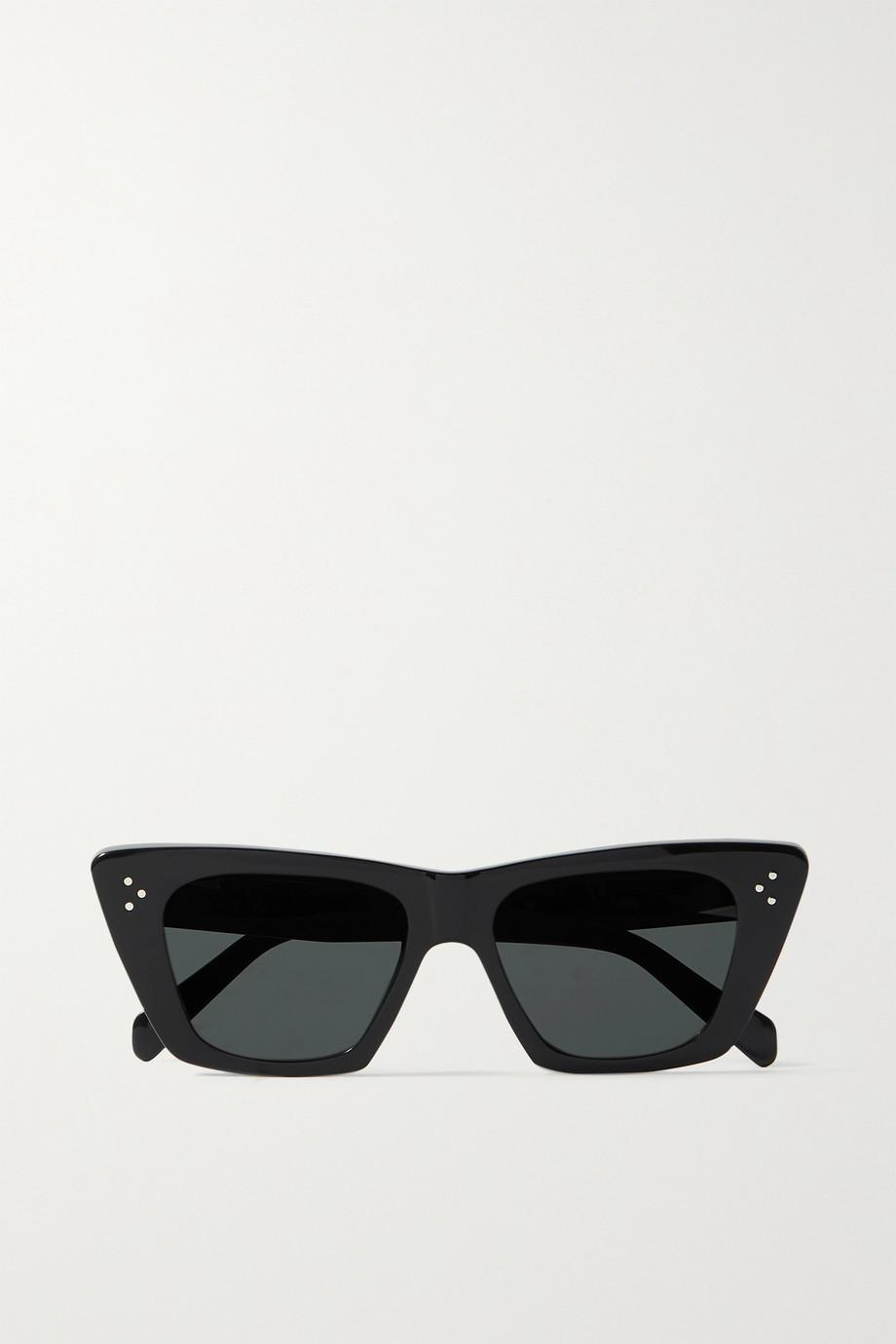 CELINE Eyewear Edge Sonnenbrille mit Cat-Eye-Rahmen aus Azetat
