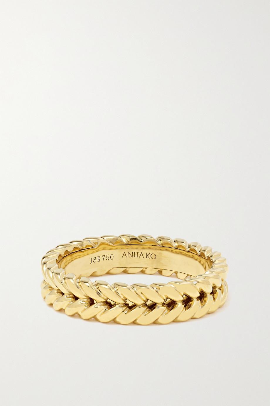 Anita Ko 18-karat gold ring