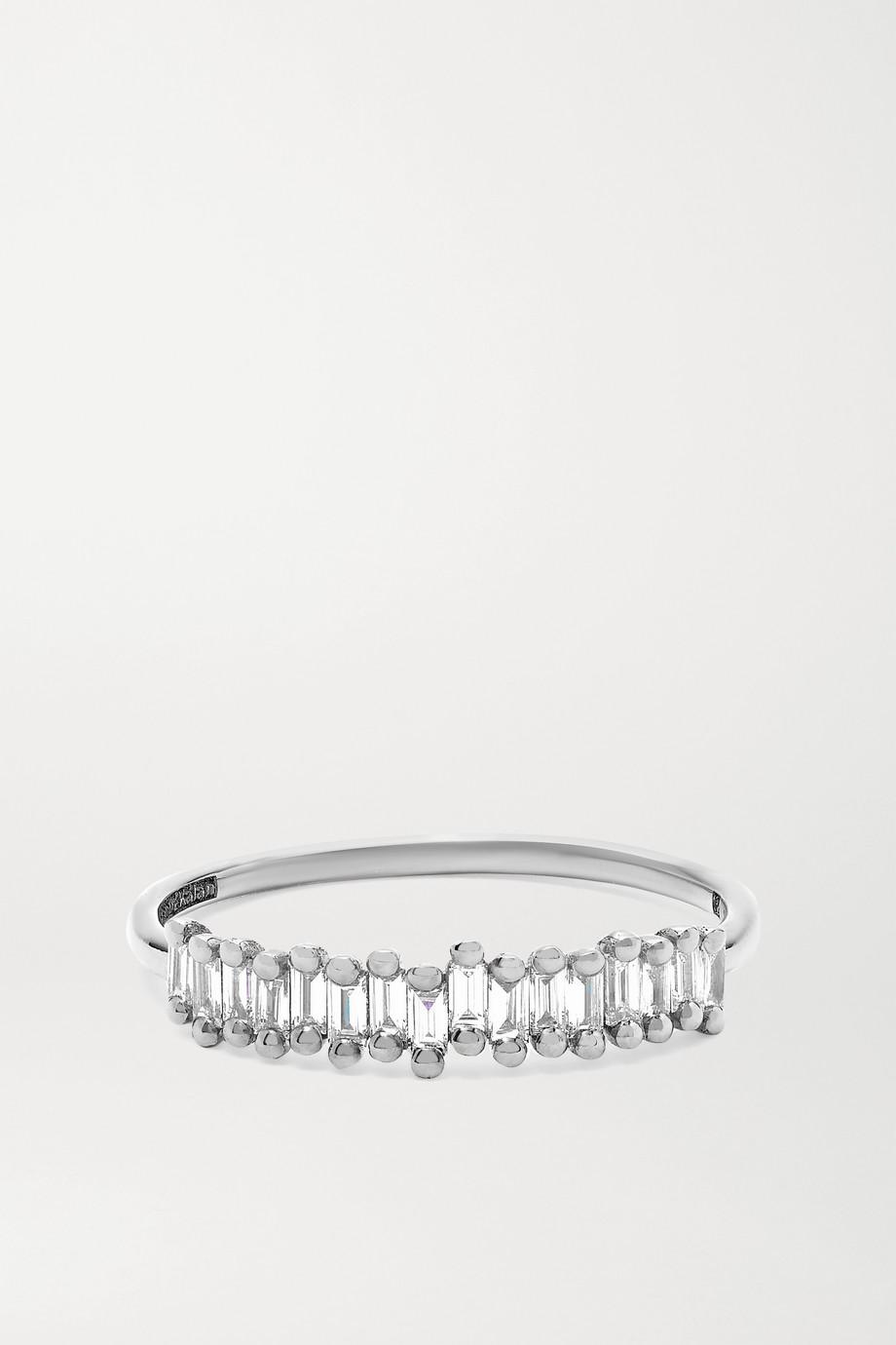 Suzanne Kalan Ring aus 18Karat Weißgold mit Diamanten