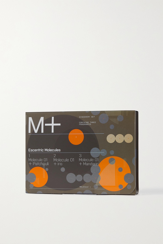 Escentric Molecules Coffret découverte M+, 3 x 2 ml