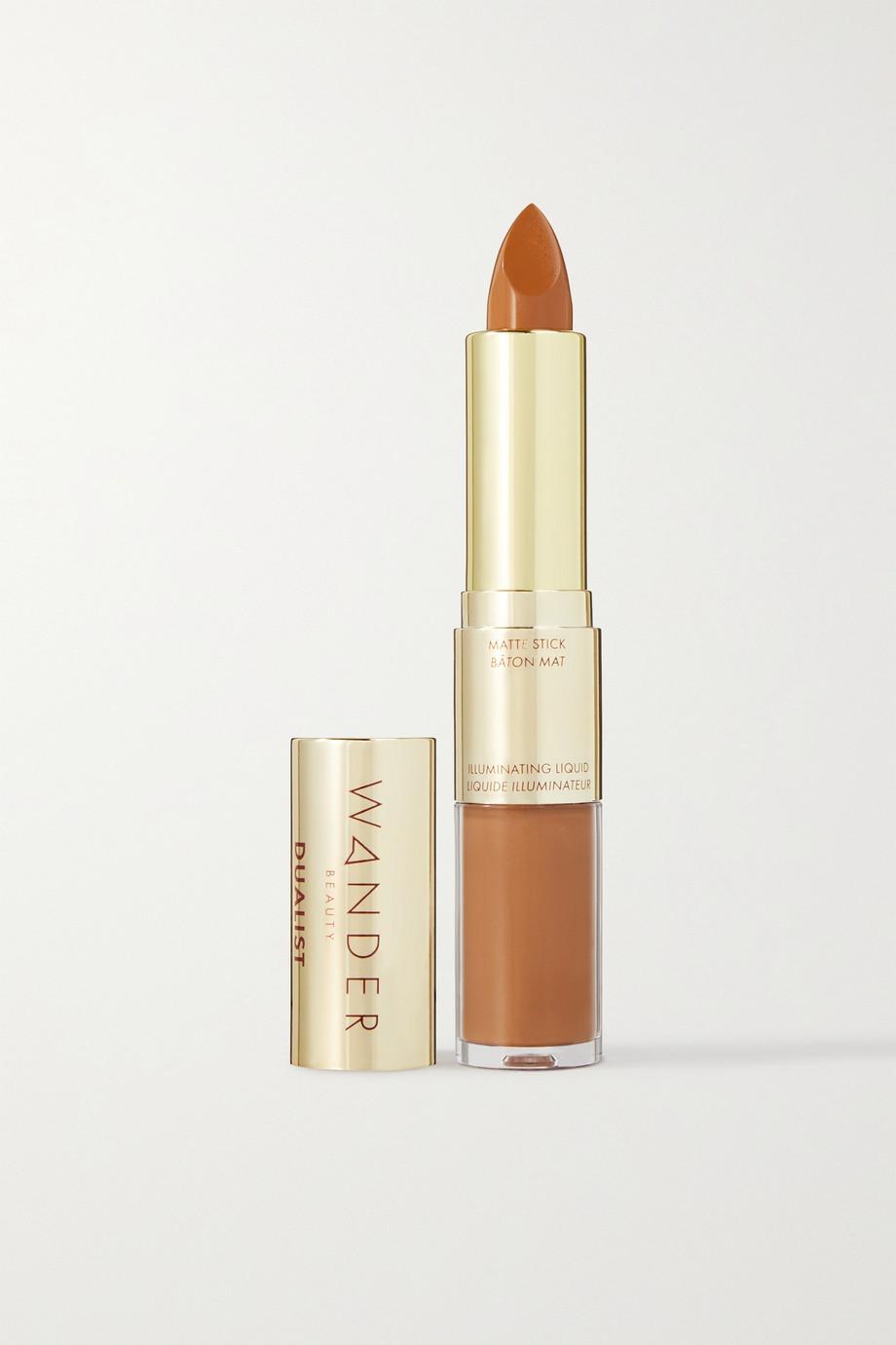 Wander Beauty Dualist Matte and Illuminating Concealer - Golden Rich