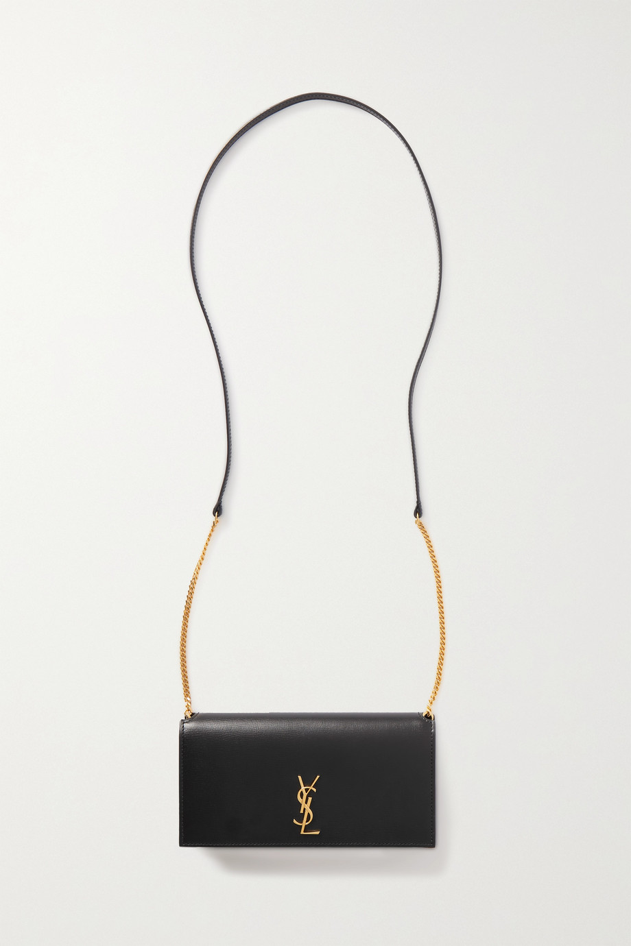 SAINT LAURENT Pochette en cuir Monogramme