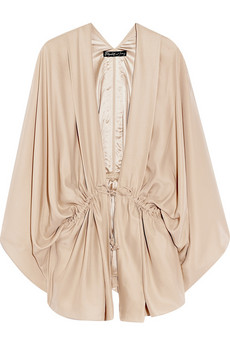 Elizabeth and James | Silk-charmeuse kimono-style blouse  from net-a-porter.com