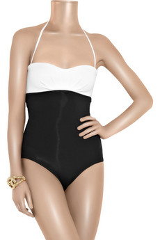 JETS by Jessika Allen Contrast one-piece