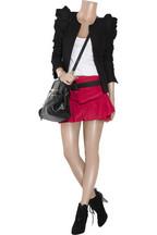 MajeTheola silk-crepe mini skirt