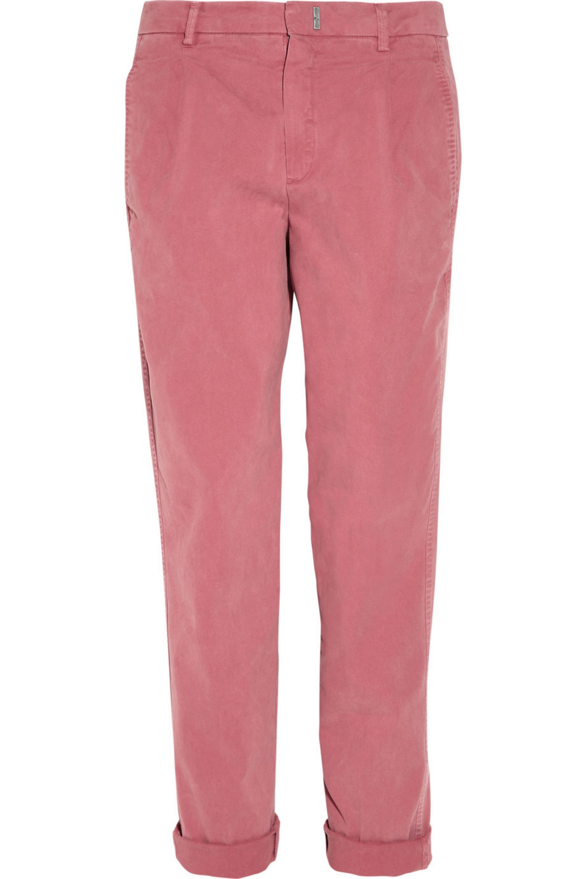 7 for all mankind Boy cropped stretch-cotton chinos