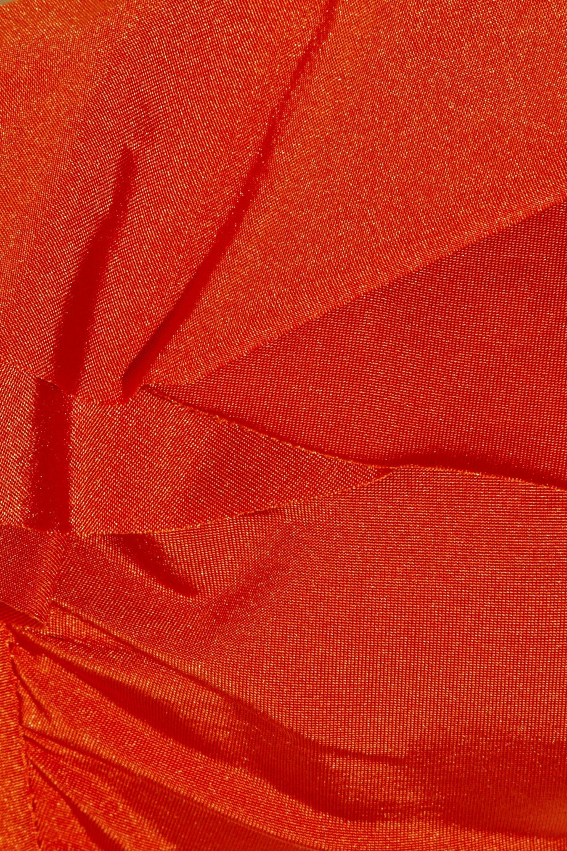 JETS by Jessika Allen Lustre ruffled bikini top
