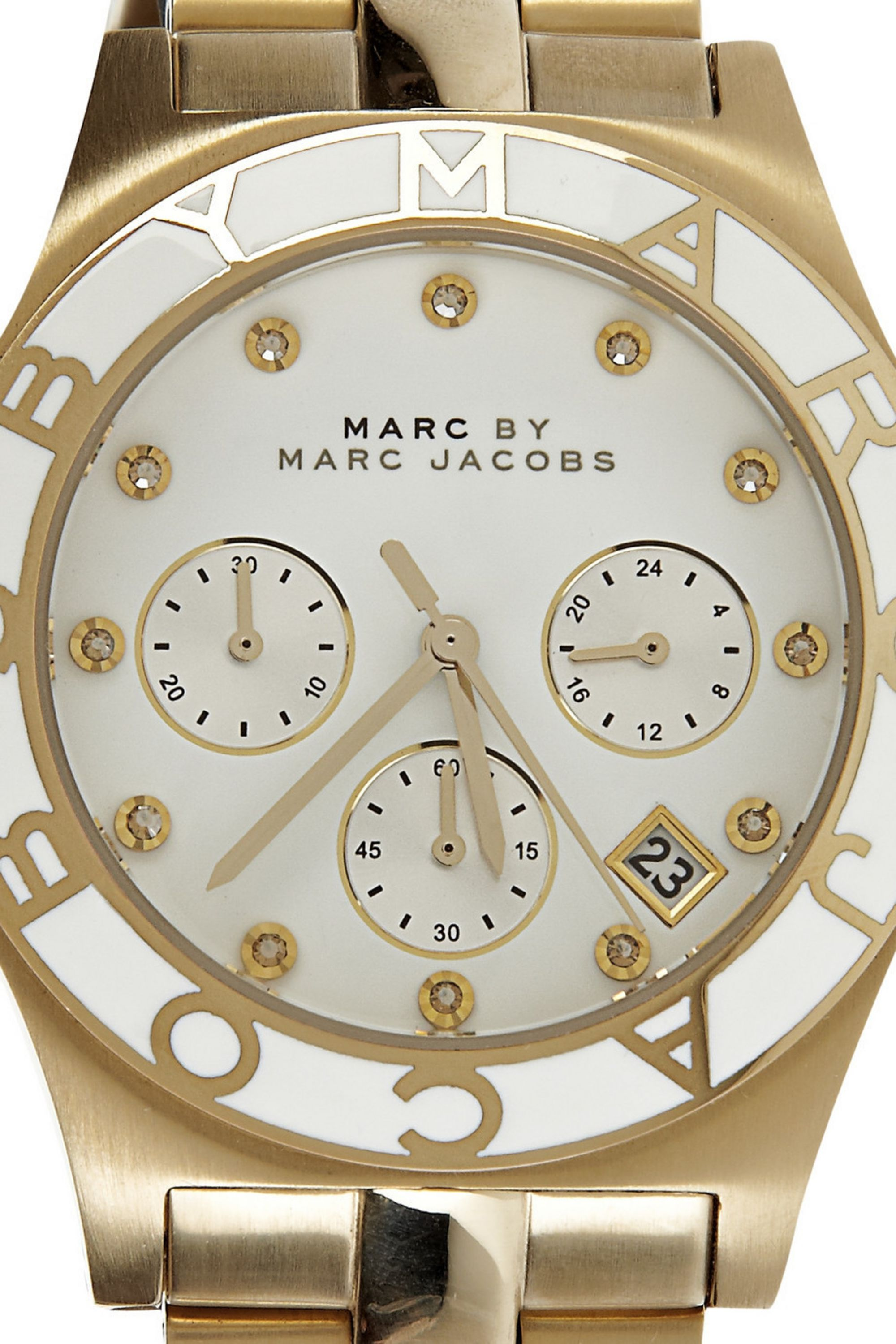 Marc by Marc Jacobs Gold-plated stainless steel watch