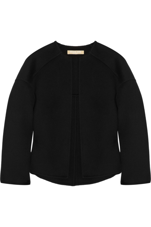 Michael Kors Melton wool jacket