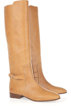 Chloé | Tucson leather and metal boots | NET-A-PORTER.COM from net-a-porter.com
