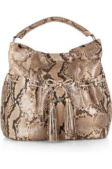 В этом сезоне, остаются модными сумки из кожи рептилий.  Представляю вам не большую подборку таких сумок.