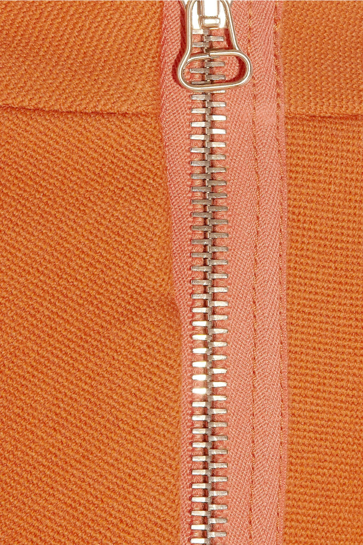 3.1 Phillip Lim Pleated wool-blend mini skirt
