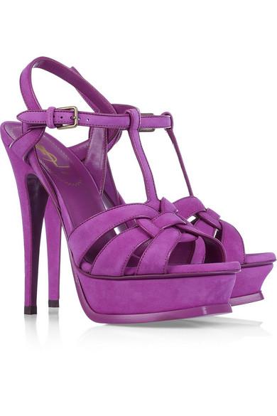 15e37e72 Tribute suede sandals