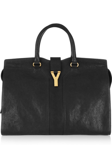 Yves Saint Laurent. Cabas Chyc leather tote 28dcf75c1dbad