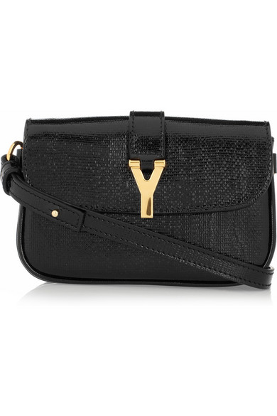 bd52aac615 Chyc patent-leather belt bag