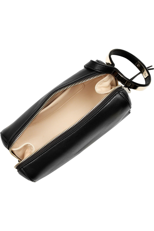 Chloé Wristlet leather clutch