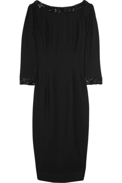Sale alerts for Sequin-embellished wool-blend dress L'Wren Scott - Covvet
