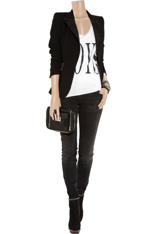 Zoe Karssen Boys cotton and modal-blend oversized T-shirt
