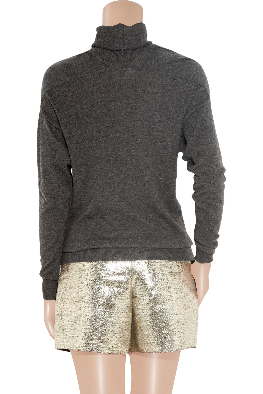 Lanvin Cashmere turtleneck sweater