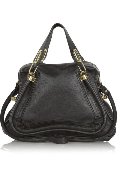 9b2516650 Chloé | The Paraty medium leather shoulder bag | NET-A-PORTER.COM