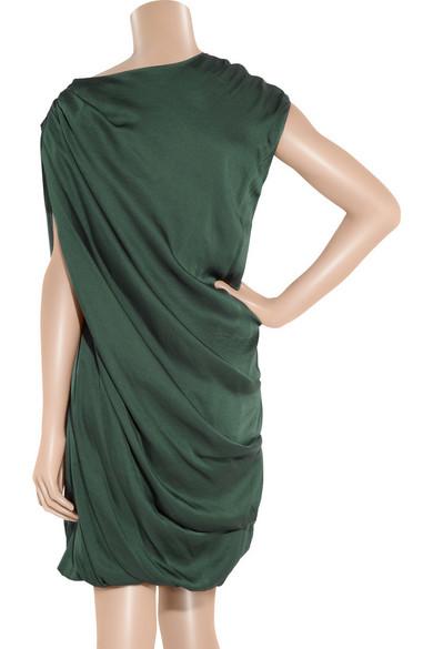 31ce87769647 DAY Birger et Mikkelsen. Draped crepe dress.  132. Zoom In