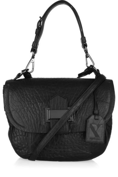09eefecbdbce Reed Krakoff. Kit textured-leather shoulder bag