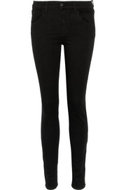 J Brand Maria Power Stretch high-rise skinny jeans