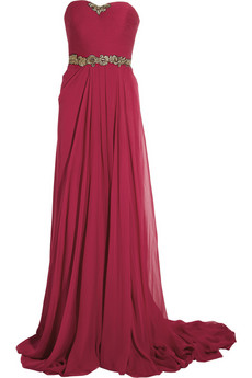 Jason Wu | Embroidered silk-chiffon gown | NET-A-PORTER.COM from net-a-porter.com