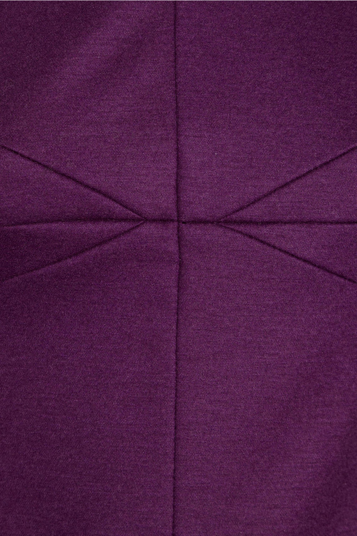 Diane von Furstenberg Paneled wool-blend mini dress