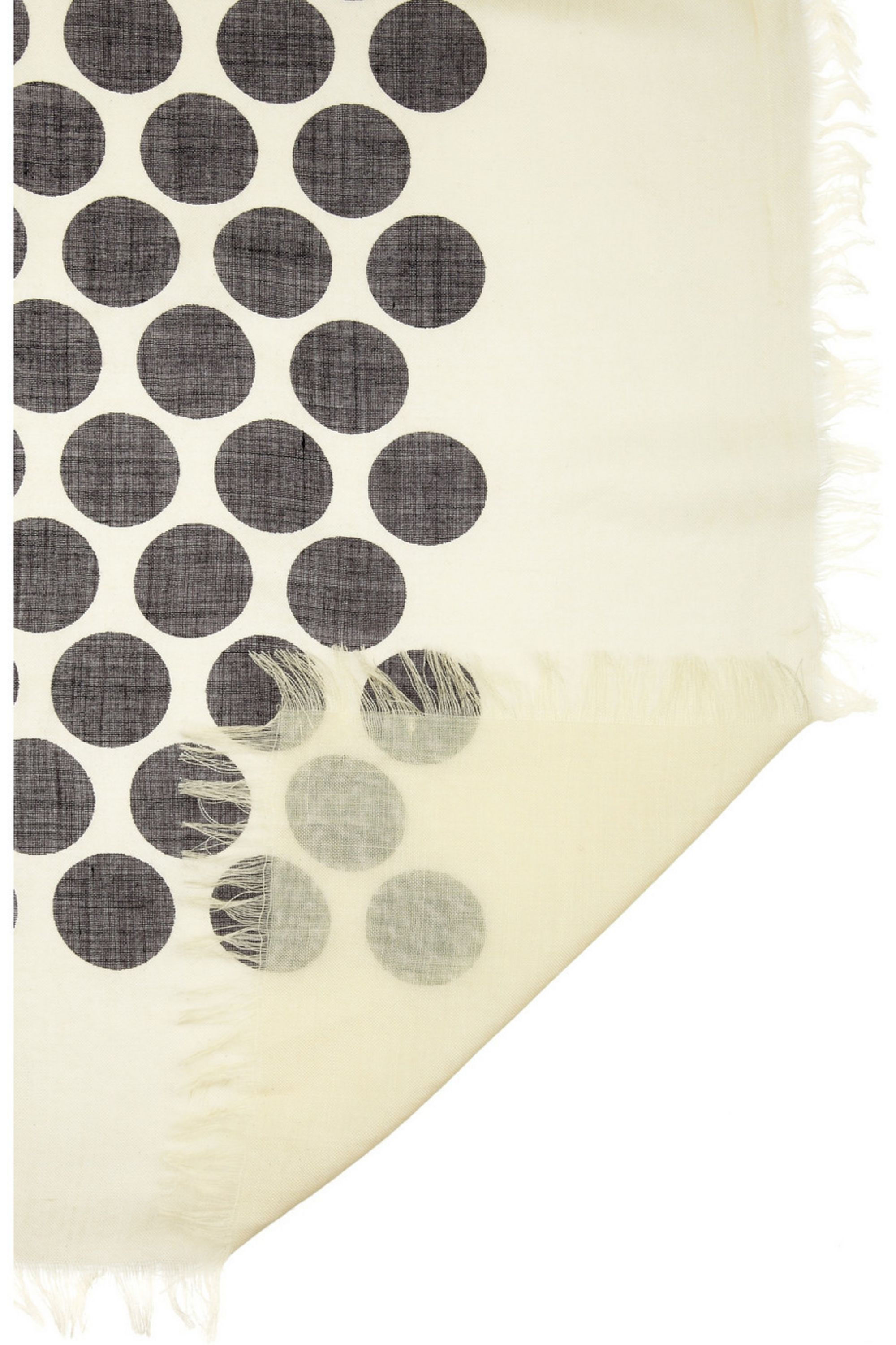 Runway Marc Jacobs Polka-dot cashmere and silk-blend scarf