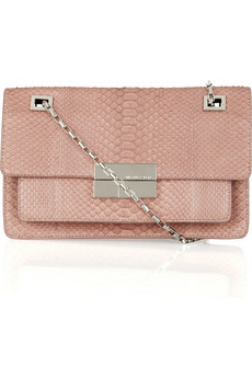 Michael Kors | Python shoulder bag | NET-A-PORTER.COM from net-a-porter.com