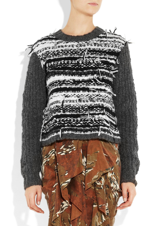 Edun Fair Isle wool-blend sweater