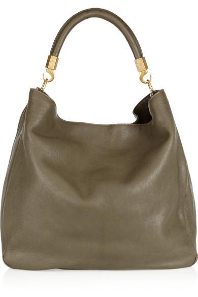 4e77084df7c5 Yves Saint Laurent. Roady leather hobo bag