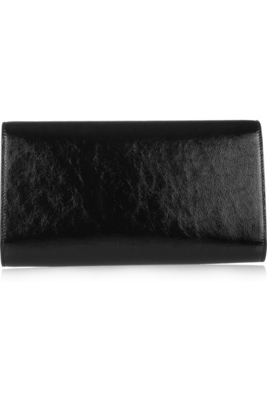 e1c03087b2 Yves Saint Laurent | The Belle de Jour patent-leather clutch | NET-A ...