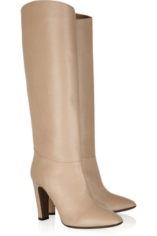 Valentino | Leather knee boots | NET-A-PORTER.COM from net-a-porter.com