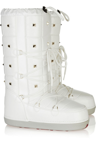 cc54fd978a58 Valentino Studded Snow Boots Net A Portercom
