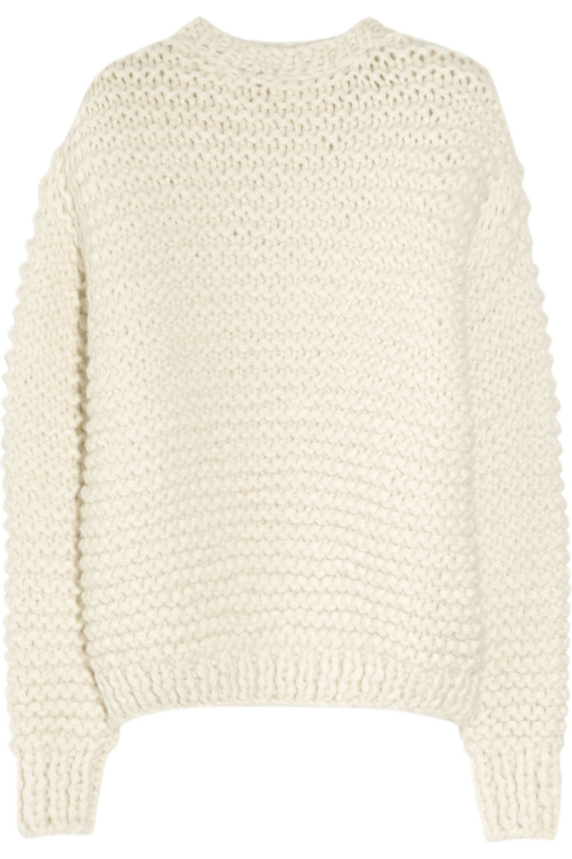 Stella McCartney Oversized alpaca-blend sweater